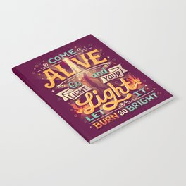 Come Alive Notebook