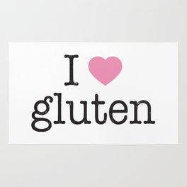 I Heart Gluten Rug
