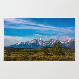 Teton Mountains Rug