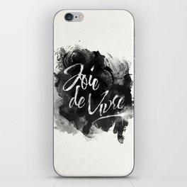 Joie De Vivre iPhone Skin