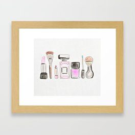Morning Routine Framed Art Print