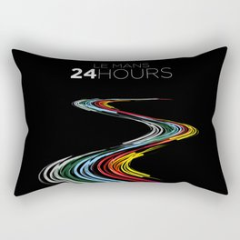Racing Lines - Le Mans 24 Hours Rectangular Pillow