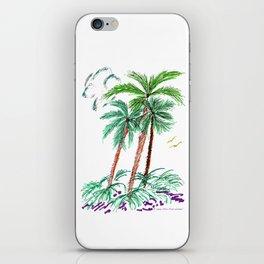 """Triplet Palms"" iPhone Skin"