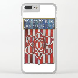 We hold these truths.. Clear iPhone Case