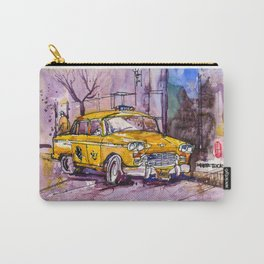 20161026 USA New York Taxi REF Carry-All Pouch