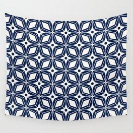 Starburst - Navy Wall Tapestry