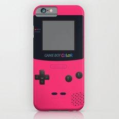 GAMEBOY Color - Pink Version Slim Case iPhone 6s