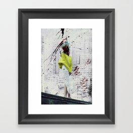 Bundenko street art Framed Art Print