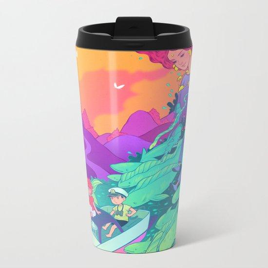 Ponyo Metal Travel Mug