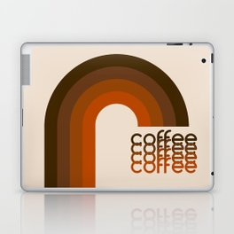 Cocoa Coffee Rainbow Laptop & iPad Skin
