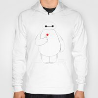 big hero 6 Hoodies featuring Big Hero 6 - Baymax by brit eddy