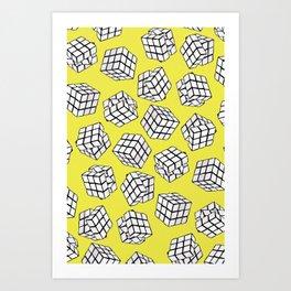 RUBIK'S CUBES! Art Print