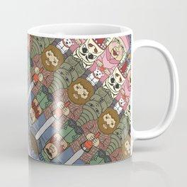 Island Inhabitants Tessellation Coffee Mug