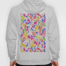 Synthesis Hot Pink Yellow Hoody