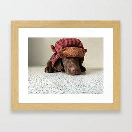 Oh yah! Framed Art Print