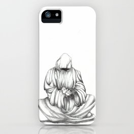 Death and Bunnies II iPhone Case