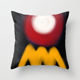 Abstract Expressionism Life Throw Pillow