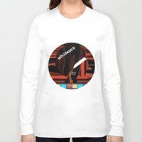 hollywood Long Sleeve T-shirts featuring Hollywood by AndISky