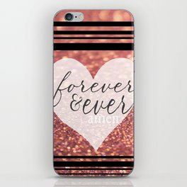 Forever And Ever Amen. iPhone Skin