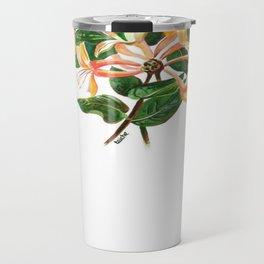 Honeysuckle Bouquet Travel Mug