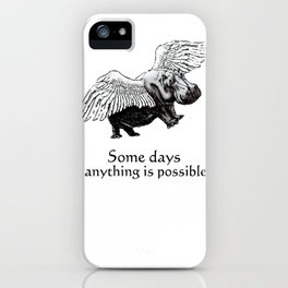 Some Days iPhone Case
