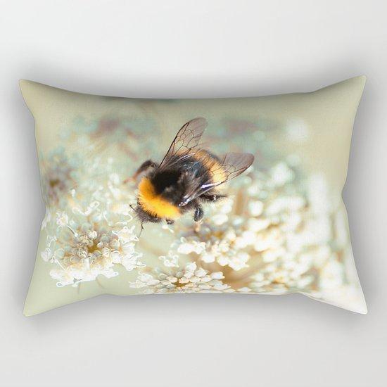 Bumblebee. Rectangular Pillow