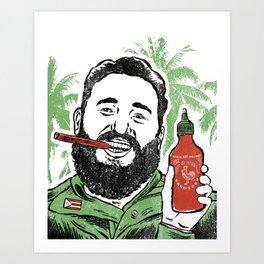 Castro Sauce Art Print