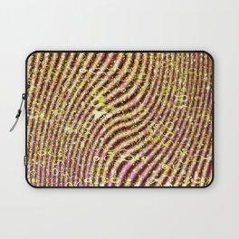 Warped glitter Laptop Sleeve