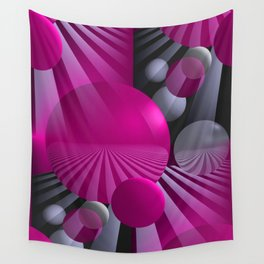3D - abstraction -116- Wall Tapestry
