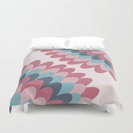 Dahlia at Bedroom Duvet Cover