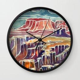 Canyonlands  Kat Ryalls Wall Clock