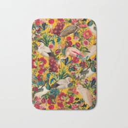 FLORAL AND BIRDS XVIII Bath Mat