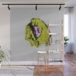 Claudia Schiffer - top model - pop icon Wall Mural