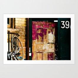 39 Art Print