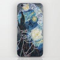 van gogh iPhone & iPod Skins featuring Van Gogh by NotNorrah