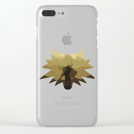The beast hunt Clear iPhone Case