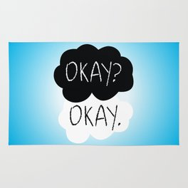 OKAY? OKAY. The Fault in Our Stars Rug
