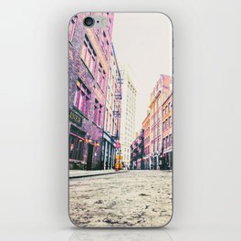 Stone Street - Financial District - New York City iPhone Skin