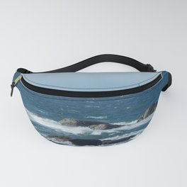 Bird over the Circle of Rocks Fanny Pack