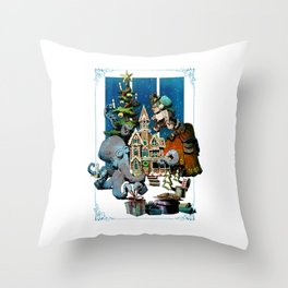 Decorating With Otto Throw Pillow
