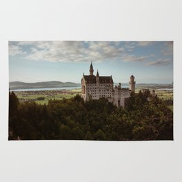 Neuschwanstein Castle in Germany Rug