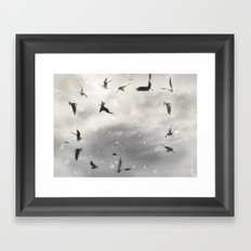 Fly Birds Fly Framed Art Print