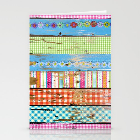 Country Wood Stationery Cards