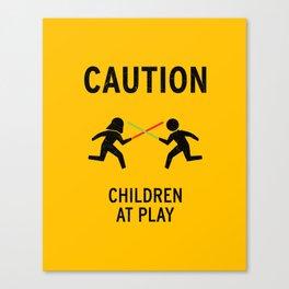 Children at Play Canvas Print