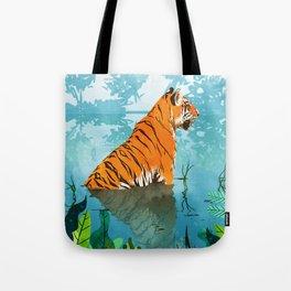 Tiger Creek Tote Bag