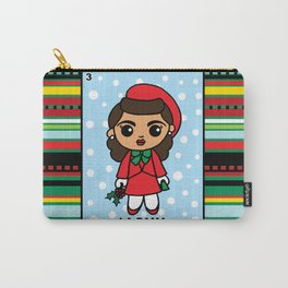 Christmas Loteria La Dama Carry-All Pouch