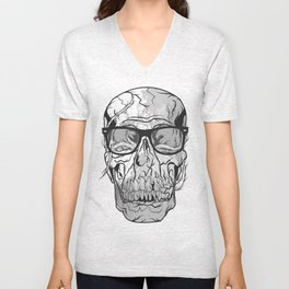 'BRAINWASHED' PRINT 2009 Unisex V-Neck