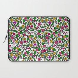 Cute Chintz Floral Pattern Laptop Sleeve