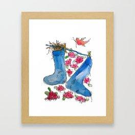 Find Your Home Framed Art Print