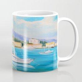 Boat dock Coffee Mug